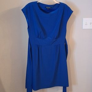 Gianni Bini Blue Sash Dress